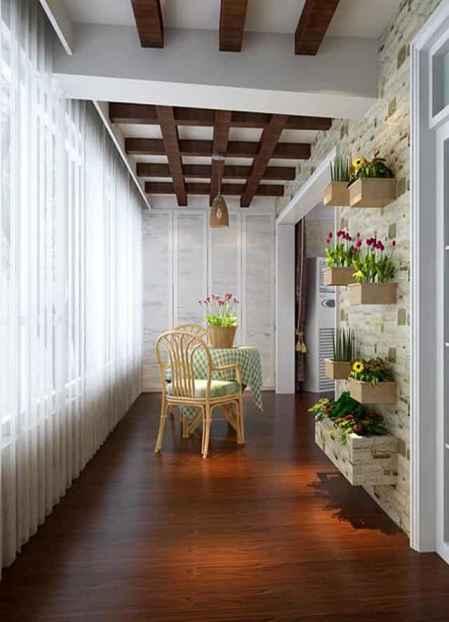 阳台装修效果图大全 实用美观的阳台充满生活气息