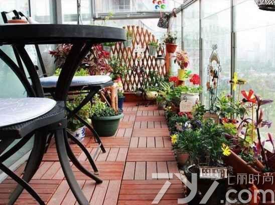 阳台花园实景图片大全