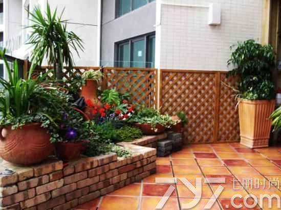 阳台花园实景图片大全,阳台花园设计实景图,唯美阳台花园图片欣赏