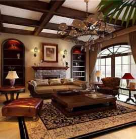 美式装修风格样板房小户型 小户型也充满别样风情