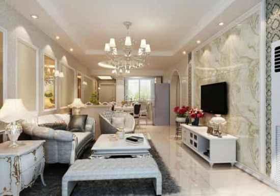美式乡村风格装修图片客厅 清新自然舒适的美式客厅