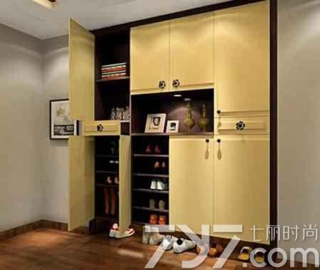 室内鞋柜装修效果图大全 小小鞋柜也有大作用