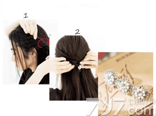扎头发的方法100种,头发要怎样扎才好看,扎头发好看的步骤图