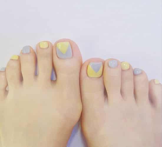 脚趾甲可爱美甲图片 扮嫩必备可爱脚趾甲2016新款 -脚趾甲可爱美甲