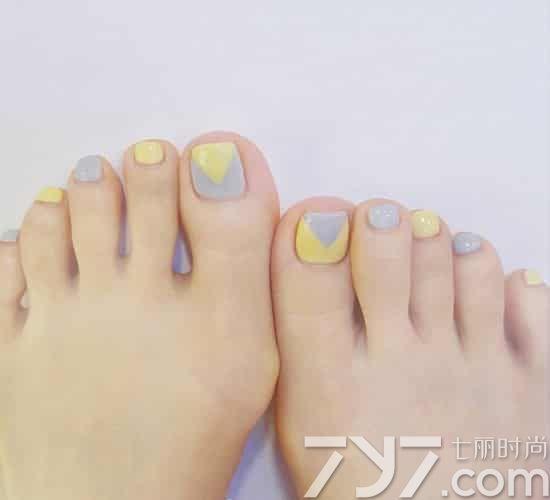 脚趾甲可爱美甲图片,可爱脚美甲图片大全