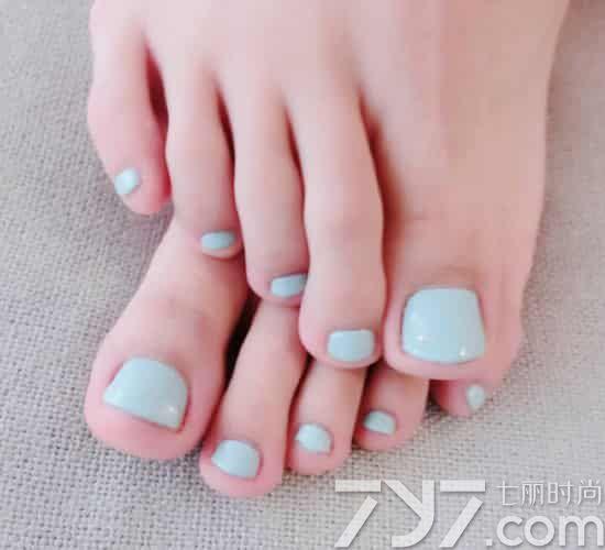 脚美甲图片纯色,脚趾甲美甲图片纯色,纯色脚美甲图片大全