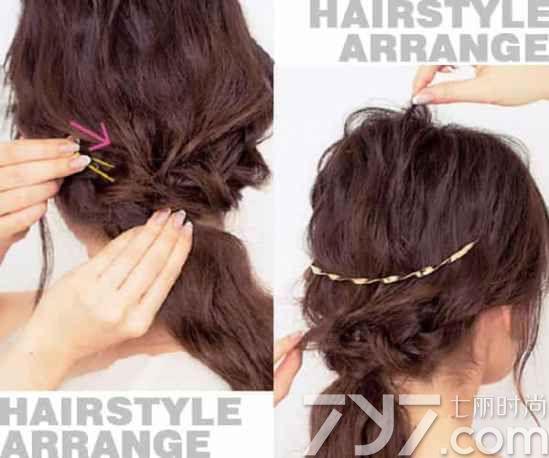 头发如何扎马尾好看,怎么扎马尾蓬松,扎马尾简单好看的步骤