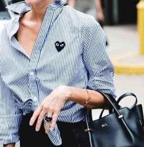 衬衫打结方法 每天都是新花样