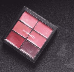 MAC六色唇膏盘有什么颜色 滋润旅行必备盘