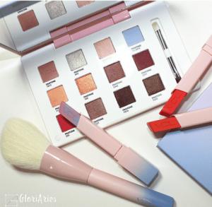 VDL粉蓝系彩妆怎么样 晶粉与静谧蓝的巧妙搭配