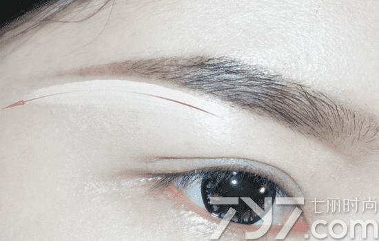 挑眉的画法,挑眉怎么画好看