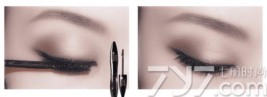 大眼妆的画法步骤图,大眼妆教程
