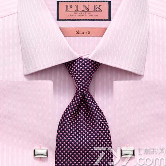 粉色衬衫配什么颜色领带,粉色衬衣配什么颜色领带,粉色衬衫搭配什