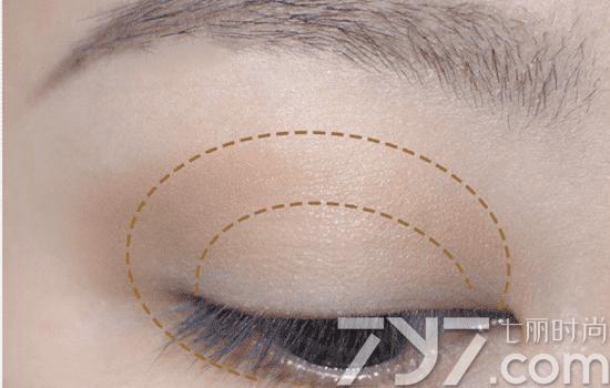 香奈儿四色眼影画法 秋冬限量大热色268眼影教程