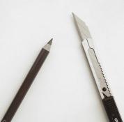 砍刀眉笔怎么削图解 不再靠BA系列削砍刀眉笔