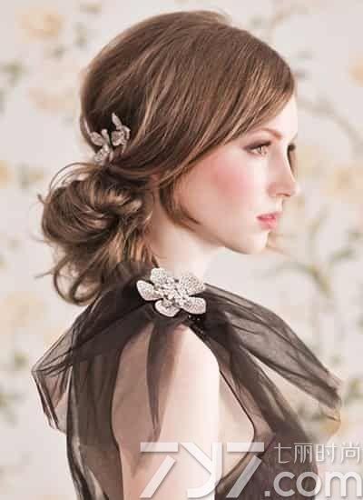 2016优雅新娘发型,2016新款优雅新娘发型,优雅新娘