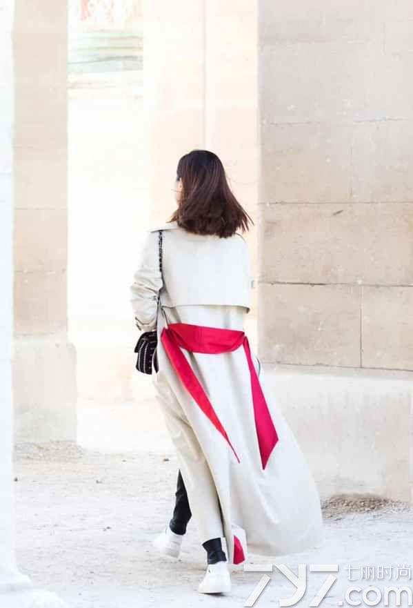 秋季风衣女装新款秋装风衣外套,风衣如何搭配图片