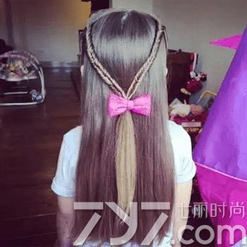儿童编发发型大全 让你的宝贝成为百变小公主