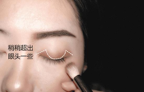 单眼皮怎么画眼影好看图解,单眼皮怎么画眼影图片步骤,单眼皮怎样