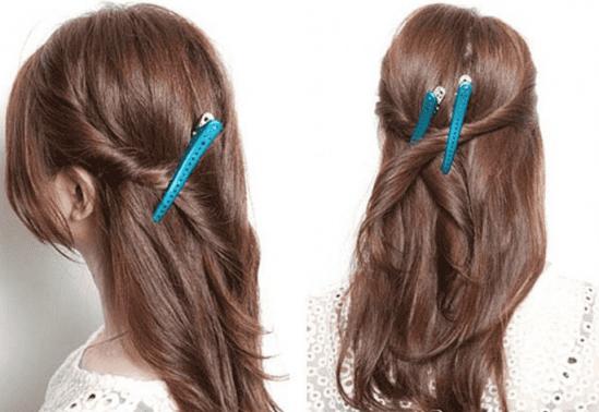 女人扎头发简单好看,女人扎头发100扎法的图片,女人怎么扎头发才