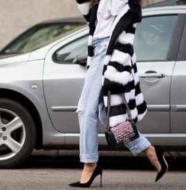 牛仔裤配高跟鞋图片 打造模特一样的美腿杀
