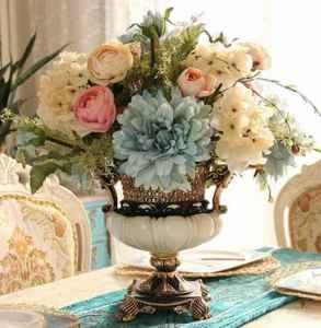餐桌上放什么花好     植物要这么摆的几大原因都在这