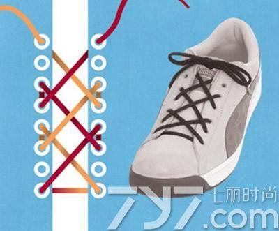板鞋鞋带的系法图解,高板鞋鞋带系法,板鞋鞋带怎么系好看
