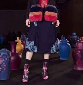 2017流行什么鞋子女鞋  秀场鞋履的最新流行元素