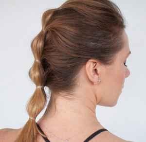 马尾辫的各种扎法 泡泡马尾VS优雅低马尾