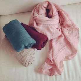 棉麻围巾应该怎么洗?可以用洗衣机洗吗?