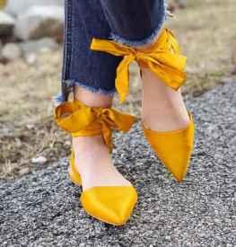 2017流行什么鞋子女鞋 缎面鞋你想要的感觉它都有