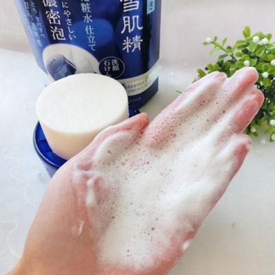 雪肌精洁面皂怎么样,雪肌精洁面皂好用吗,雪肌精洗颜皂怎么样
