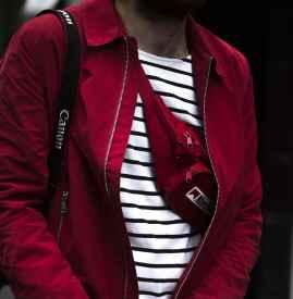 条纹T恤搭配什么外套男 彰显春日年轻活力
