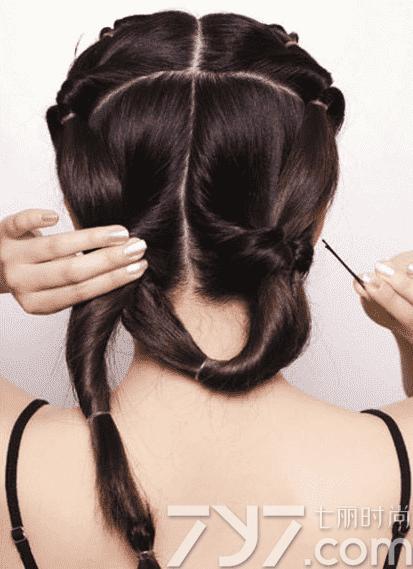 长发盘发发型,长发盘发发型步骤图解,长发盘发图片图片
