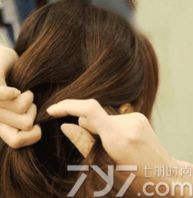 短发盘头发简单好看的步骤 名媛风盘发助你提升气质
