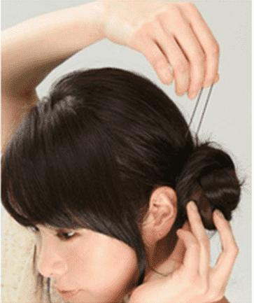 型好看,卷发扎头发的方法100种