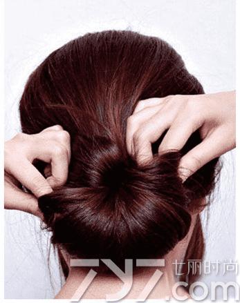 简单盘发图解,夏季盘发,夏季盘头发简单发型 - 七丽
