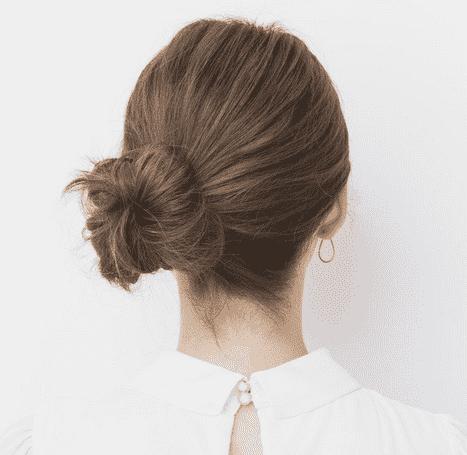 中短发丸子头的扎法图解 告别夏季闷热就得这么扎