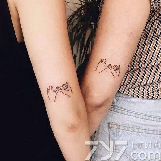 情侣纹身图案 当下最流行的8款情侣纹身