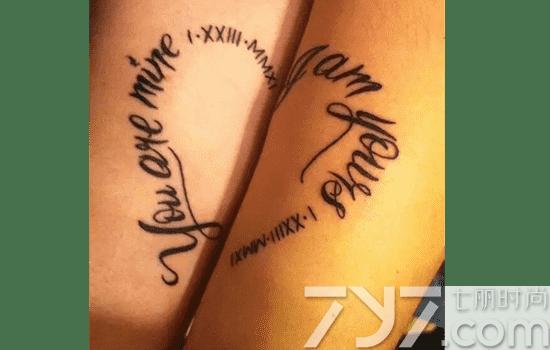 英语短句纹身,英语短语纹身,英文短语纹身 (2) - 七丽