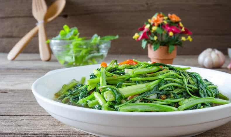 夏天吃空心菜可以减肥吗