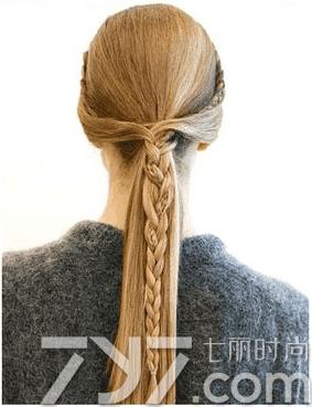长发马尾编发图片,马尾辫编发,马尾辫编发图片步骤
