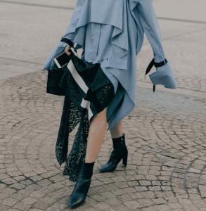 衬衫裙配什么鞋子 hold住职场有能玩转街头
