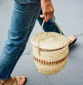 草编包图片 选择最适合你的南岛风情