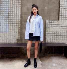 韩版衬衫配什么裤子  干练帅气时髦不掉分