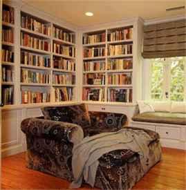 书房沙发床摆放效果图 沙发要这么摆才好看