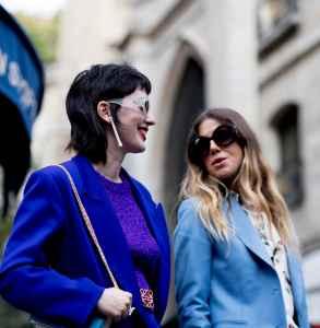2018春夏巴黎时装周街拍 潮流元素轻松掌握