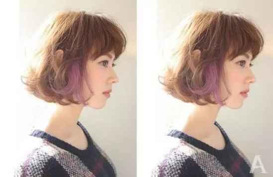 盘点染头发图片发型发色大全 个性潮流让你从此不再平庸