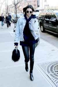 牛仔外套的经典搭配 最简单的往往最时髦