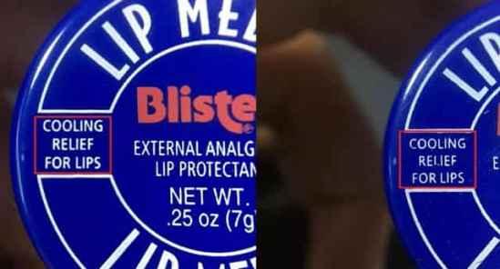小蓝罐唇膏真假对比 经典小蓝罐必须要真的